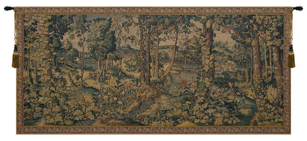 Royal Hunting Woods Belgian Tapestry Wall Hanging