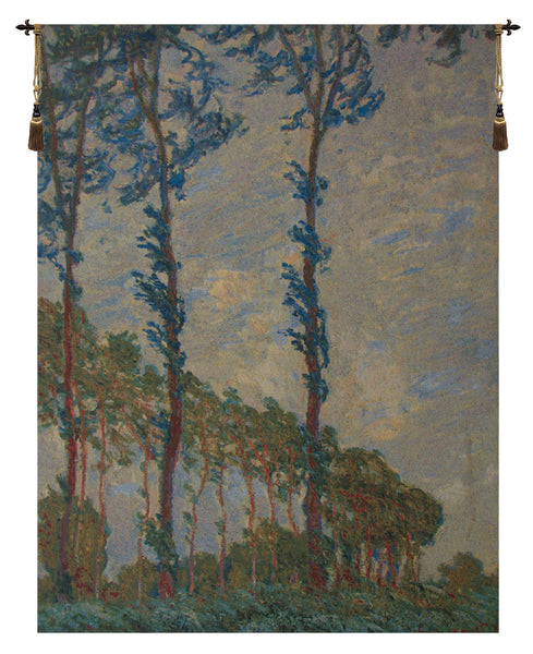 Claude Monet Trees Belgian Tapestry Wall Hanging