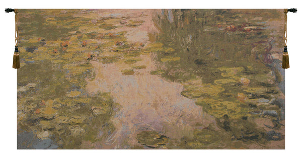 Monet's Style Without Border Belgian Tapestry Wall Hanging
