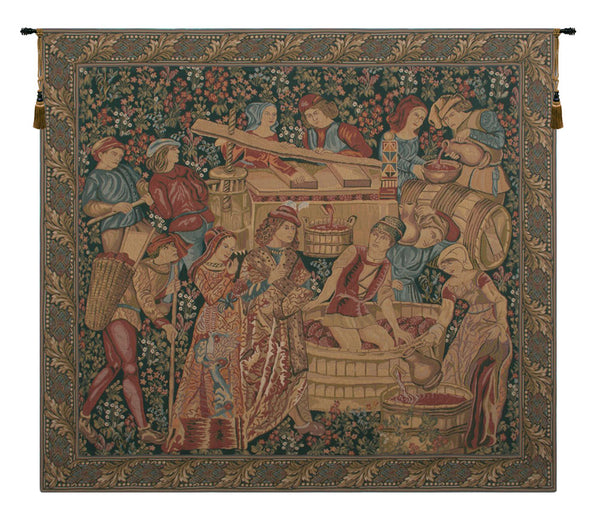 Vendange Left Panel Tapestry Wall Hanging