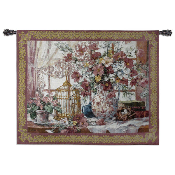Queen Annes Lace Tapestry Wall Hanging
