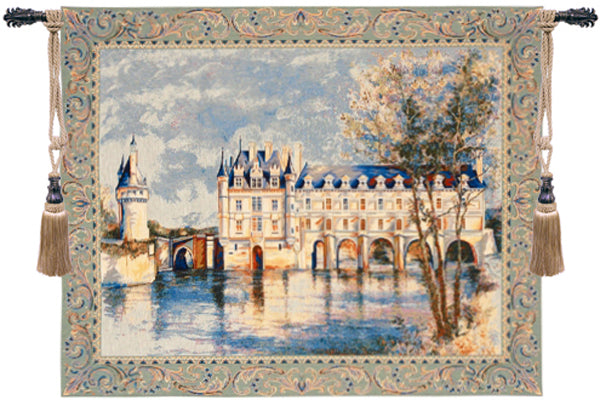 Chenonceau Castle European Wallhanging