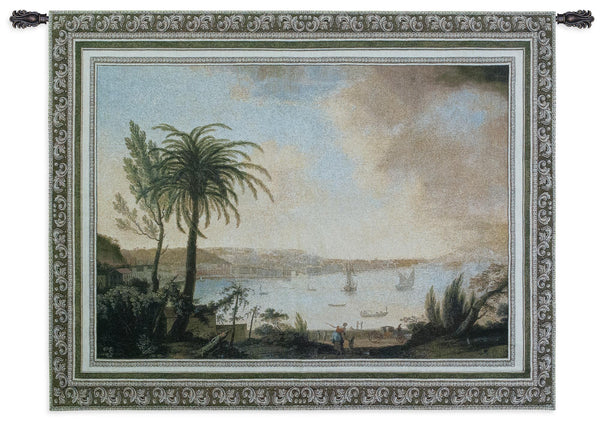 View of Naples Tapestry Wall Hanging