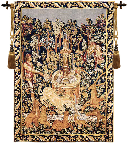 Licorne A La Fontaine French Tapestry