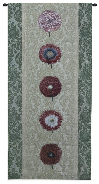 Floating Botanicals Mesclun Tapestry Wall Hanging