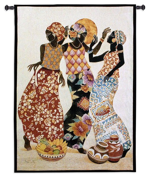 Jubilation (African - Native - Dance) Tapestry Wall Hanging
