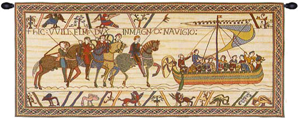 William Embarks With Border French Tapestry