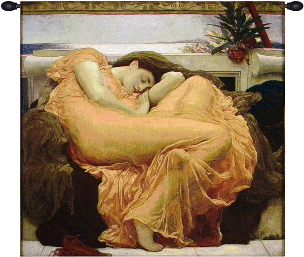 Flaming June Tapestry Wall Art