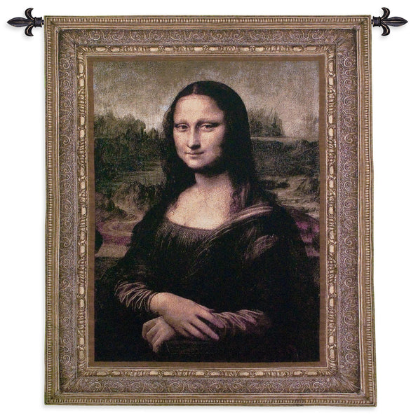 Mona Lisa Tapestry Wall Hanging
