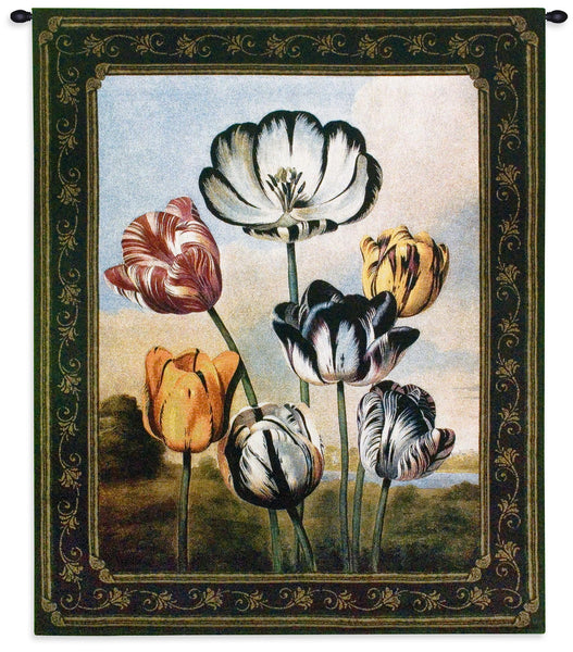 The Temple of Flora Tapestry Wall Hanging