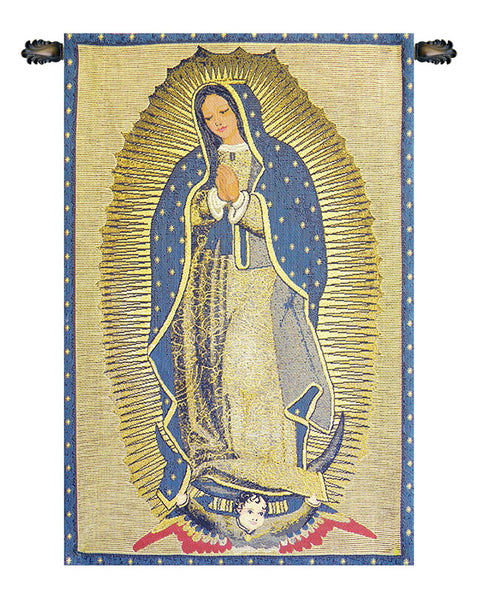 La Virgen De Guadelupe European Wallhanging