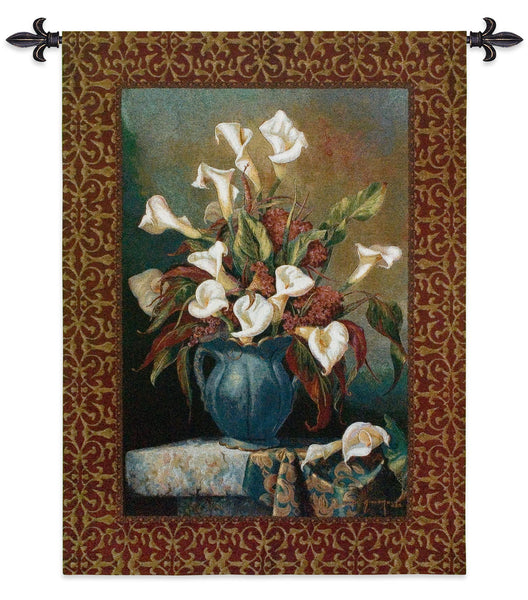 Callas with Cockscomb Tapestry Wall Hanging