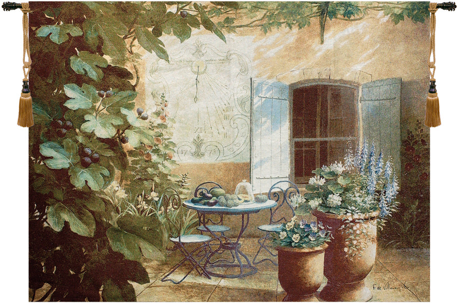 Afternoon in Provence Fine Art Tapestry