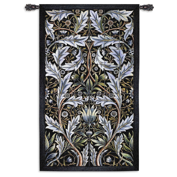Panel of Tiles (William Morris) Tapestry Wall Hanging