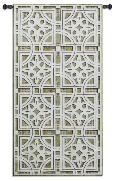 Fretwork Tapestry Wall Hanging