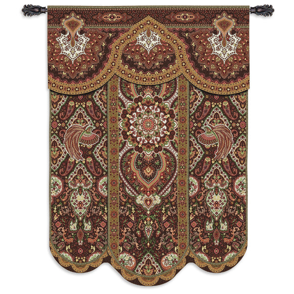 Paradise Cinnabar Tapestry Wall Hanging