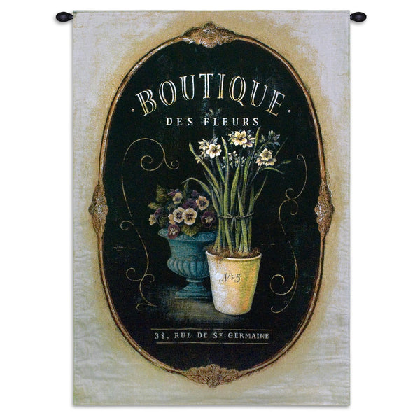 Floral Boutique Tapestry Wall Hanging