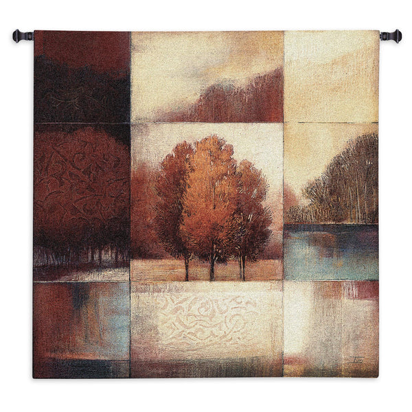 Persimmon Forest Tapestry Wall Hanging