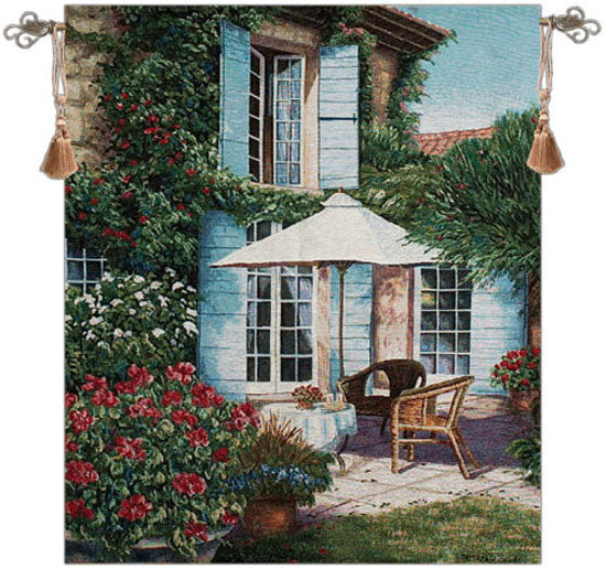 Umbrella in the Sun Tapestry Wall Hanging