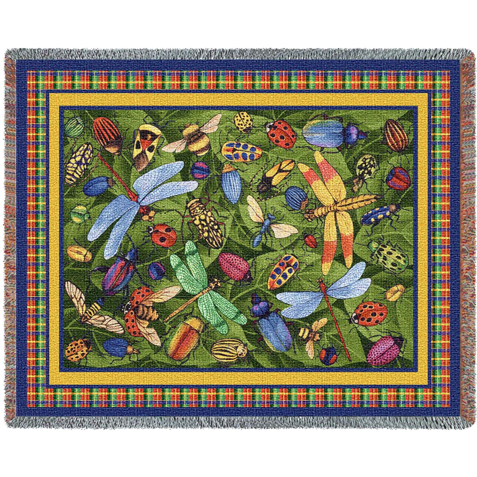 Bugs Life (Nature) Tapestry Throw