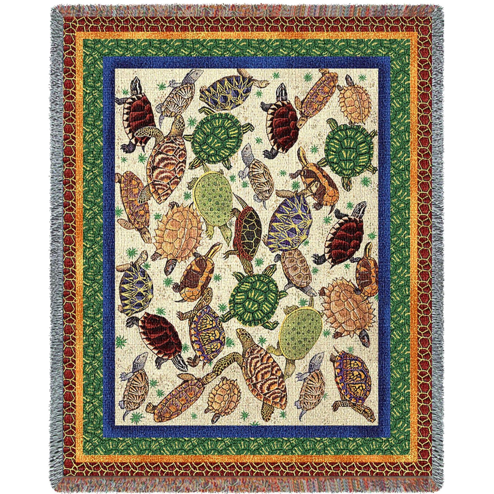 Turtles (Nature) Tapestry Throw