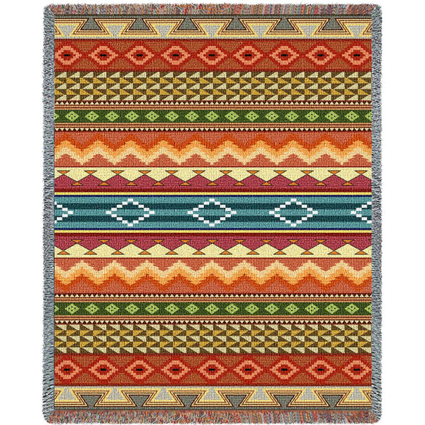Southwest Stripe (Western) Tapestry Throw