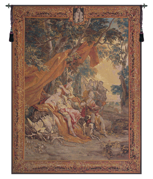 Diana Flanders Belgian Tapestry Wall Hanging