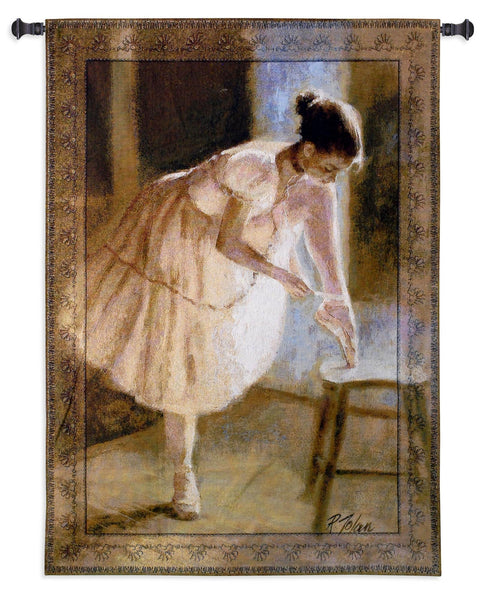 Dress Rehearsal Dance Tapestry Wall Hanging