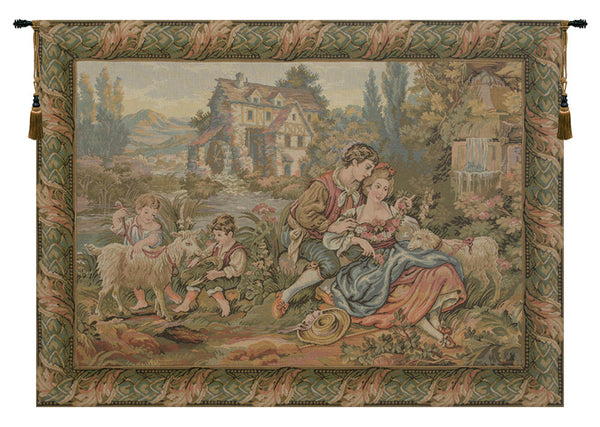 Noble Pastorale 01 Tapestry Wall Hanging