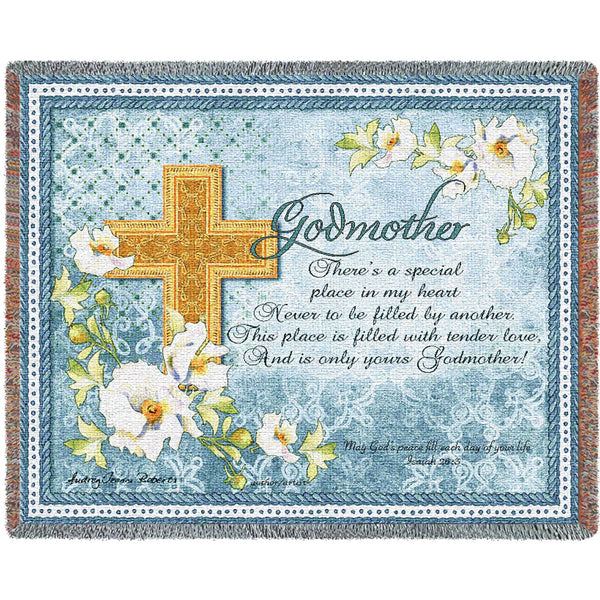 Godmother (Inspirational) Tapestry Throw