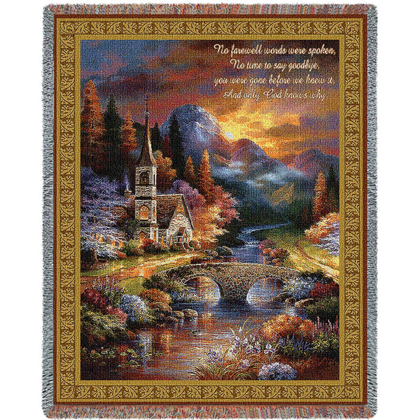 Early Service (Memorial) Tapestry Throw