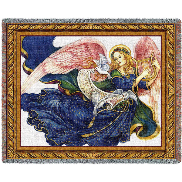 Celestial Grace (Angels) Tapestry Throw