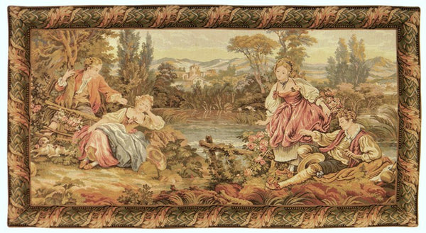 Lakeside Rendezvous Tapestry Wall Hanging