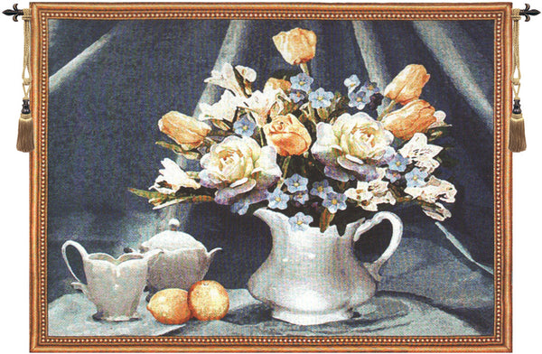 Country Still Life Tapestry Wall Art