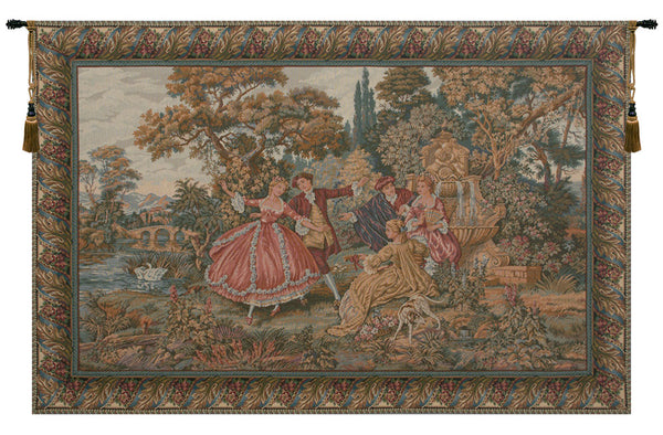 Minuetto Italian Tapestry Wall Hanging