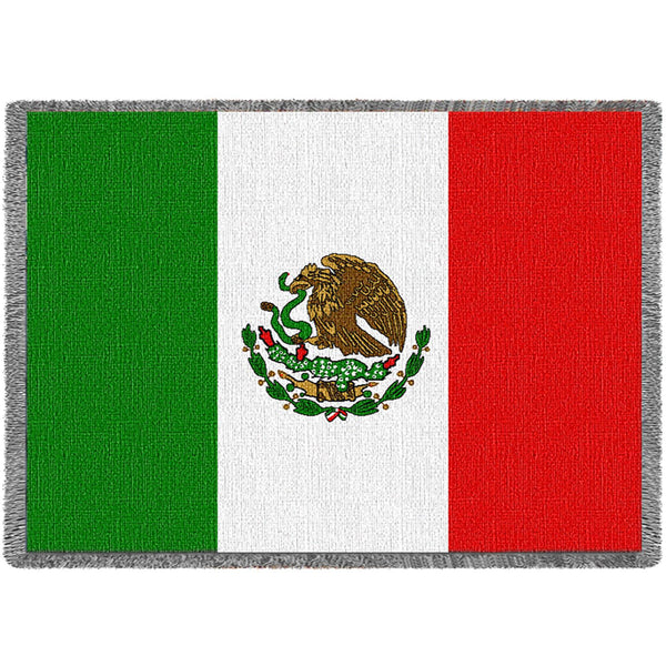 Mexico (Flags) Tapestry Throw
