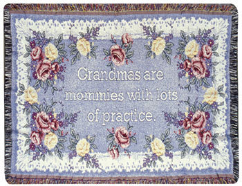 Grandma (Gift to Remember) Tapestry Throw