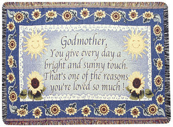 Godmother (Gift to Remember) Tapestry Throw