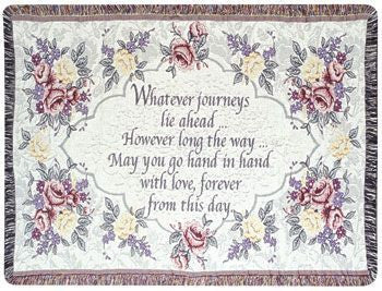 Wedding (Gift to Remember) Tapestry Throw