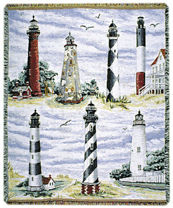 Carolina Gold (By the Shore) Tapestry Throw