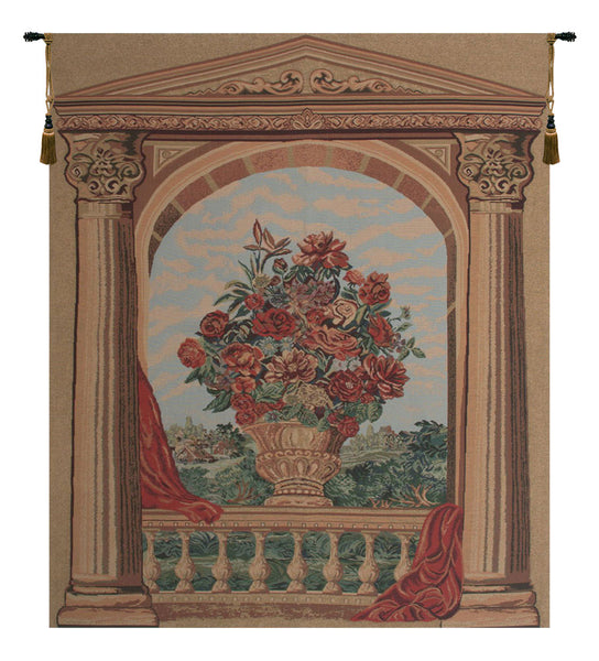 La Terasse Tapestry Wall Hanging