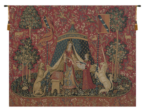 A Mon Seul Desir IV Tapestry Wall Hanging