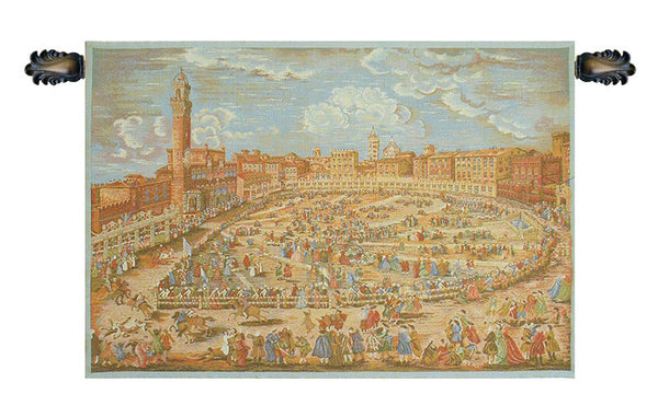 Siena Town Square Italian Tapestry Wallhanging