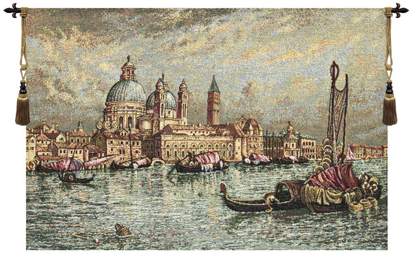 Venice, Basilica of St. Maria Della Salute Italian Tapestry Wallhanging