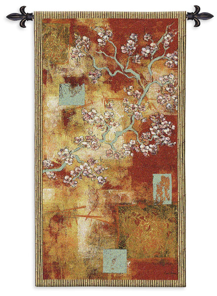 Damask Blossom Tapestry Wall Hanging