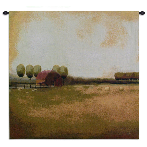 Rural Landscape II Tapestry Wall Hanging