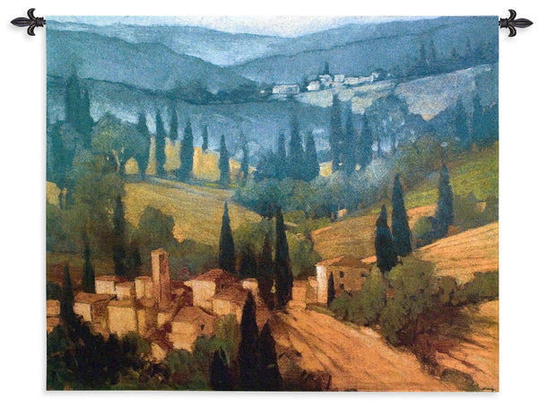 Tuscan Valley View Tapestry Wall Hanging