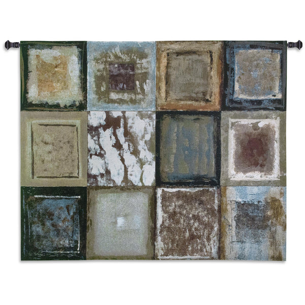 Squares I Tapestry Wall Hanging