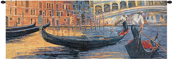 Gondola Ride II Tapestry Wall Hanging