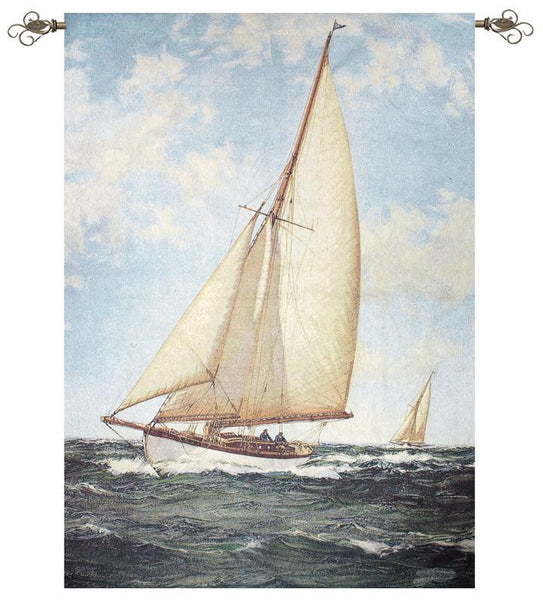 Stretch to Seaward Fine Art Tapestry